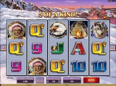 Maxino featuring the Video Slots Mystic Dreams with a maximum payout of $360,000