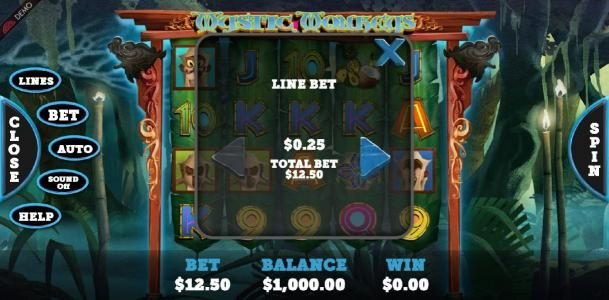Come On featuring the Video Slots Mystic Monkeys with a maximum payout of $93,750