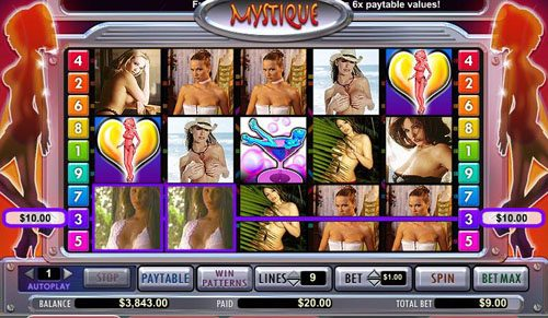 Play slots at Casiplay: Casiplay featuring the video-Slots Mystique Club with a maximum payout of 15,000x