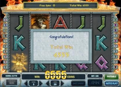 Neder featuring the Video Slots Myth with a maximum payout of $1,250