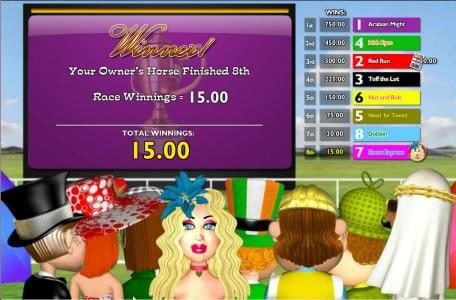 VIP Casino featuring the Video Slots Nags to Riches with a maximum payout of 5,000x