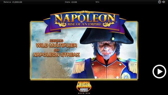 Play slots at Moon Games: Moon Games featuring the Video Slots Napoleon Rise of an Empire with a maximum payout of $250,000