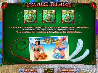 Mighty Slots featuring the Video Slots Naughty or Nice Spring Break with a maximum payout of $250,000