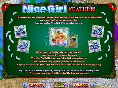 Nice Girl Feature Rules