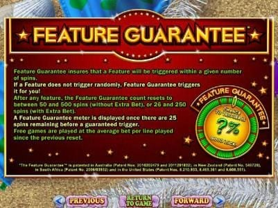 Prism featuring the Video Slots Naughty or Nice Spring Break with a maximum payout of $250,000