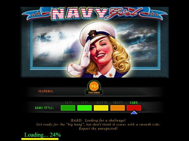 Play slots at Cobra: Cobra featuring the Video Slots Navy Girl with a maximum payout of $500,000