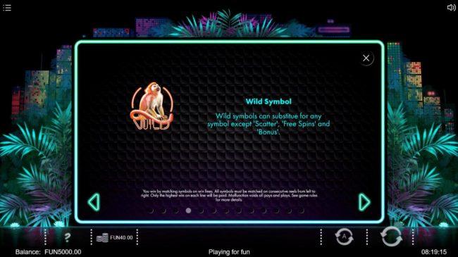 Neon Jungle :: Wild Symbol