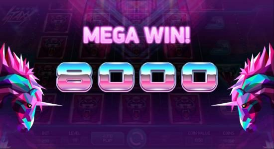 Thrills featuring the Video Slots Neon Staxx with a maximum payout of $400,000