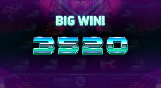 Casiplay featuring the Video Slots Neon Staxx with a maximum payout of $400,000