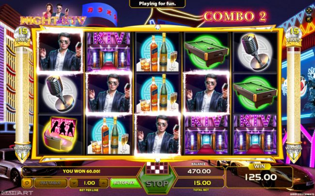 Africa Casino featuring the Video Slots Night at KTV with a maximum payout of $1,500