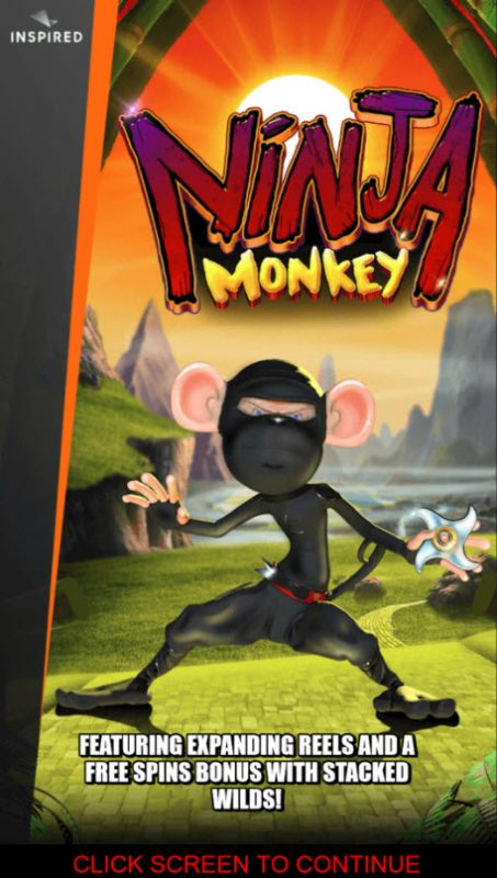 Play slots at Win Windsor: Win Windsor featuring the Video Slots Ninja Monkey with a maximum payout of $250,000