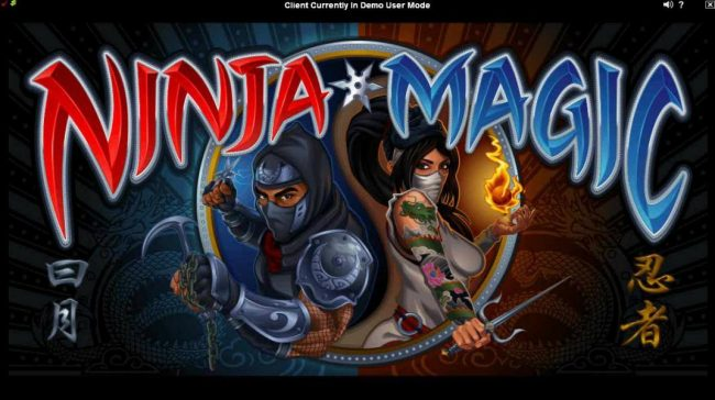 Play slots at Go Wild: Go Wild featuring the Video Slots Ninja Magic with a maximum payout of $15,000