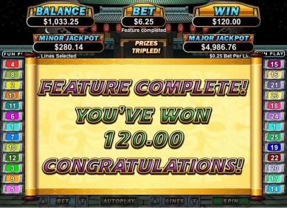 Planet 7 featuring the Video Slots Ninja Star with a maximum payout of $250,000