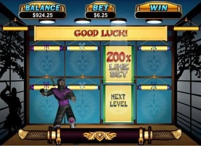 Play slots at Las Vegas USA: Las Vegas USA featuring the Video Slots Ninja Star with a maximum payout of $250,000