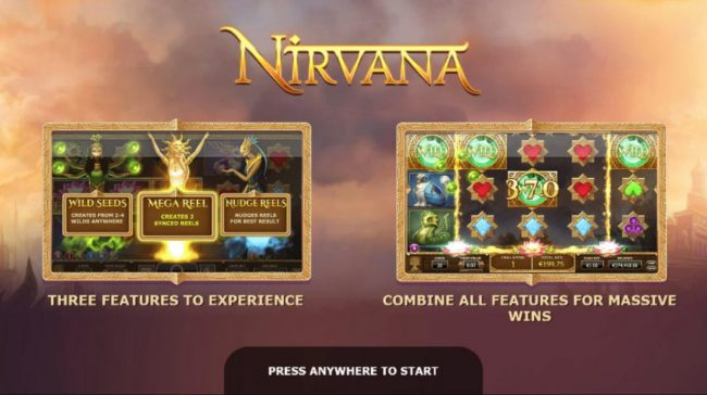 Play slots at Win British: Win British featuring the Video Slots Nirvana with a maximum payout of $10,000