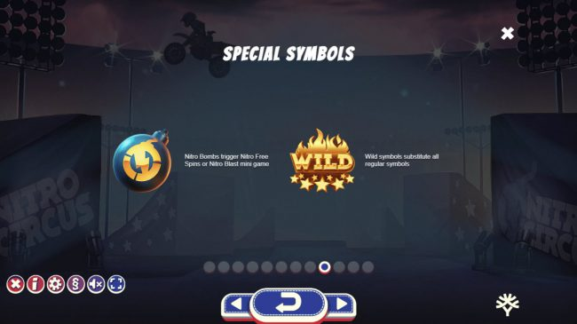 Wild Tornado featuring the Video Slots Nitro Circus with a maximum payout of $250,000
