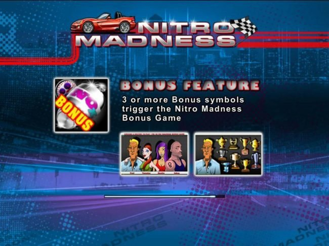 Play slots at Superior: Superior featuring the Video Slots Nitro Madness with a maximum payout of $900,000