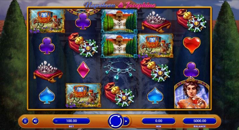 Napoleon & Josephine :: Main Game Board
