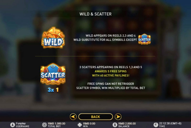 Nation Double Play :: Wild and Scatter Rules