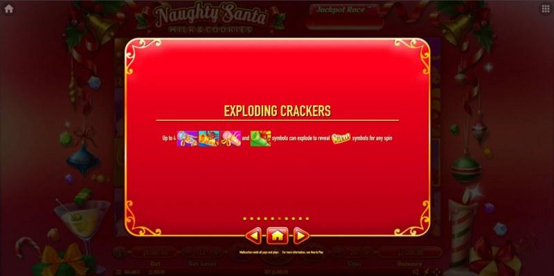 Naughty Santa Milk & Cookies :: Feature Rules