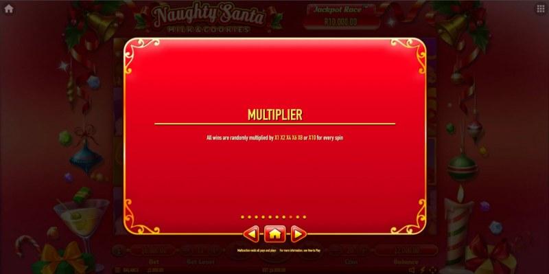 Naughty Santa Milk & Cookies :: Multipliers