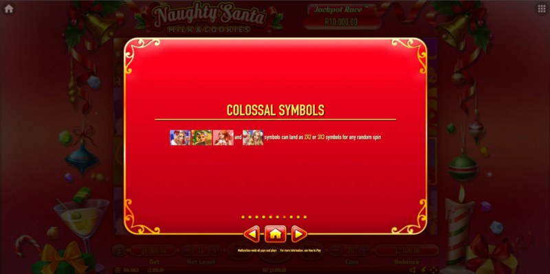 Naughty Santa Milk & Cookies :: Colossal Symbols