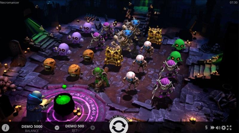 Necromancer :: Main Game Board