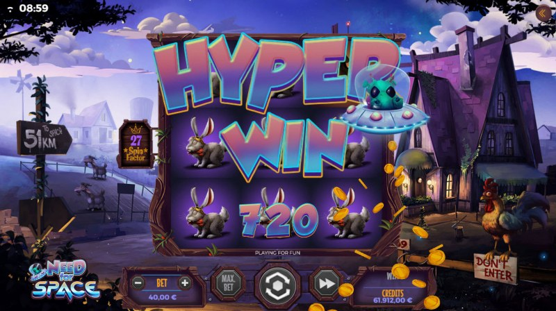 Need for Space :: Hyper Win