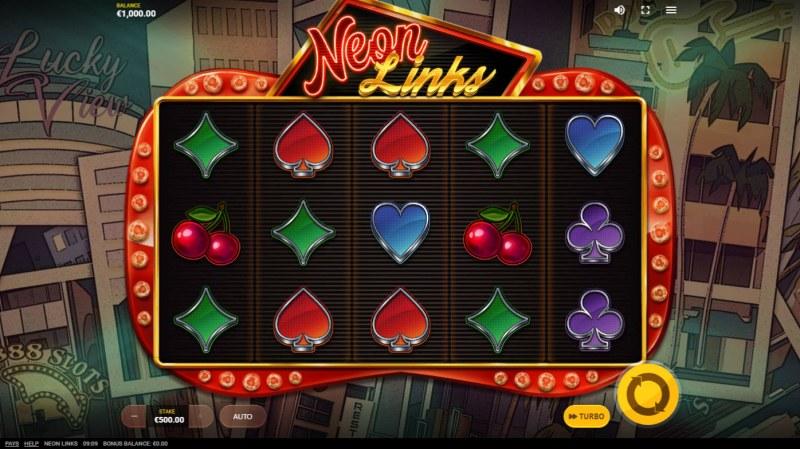 Neon Links :: Base Game Screen