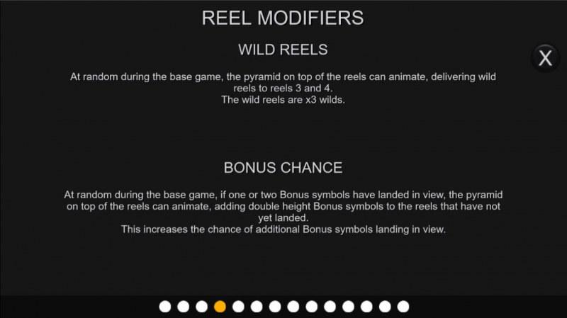 Neon Pyramid :: Reel Modifiers