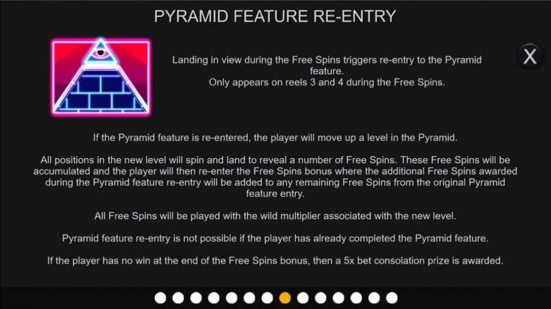 Neon Pyramid :: Feature Rules