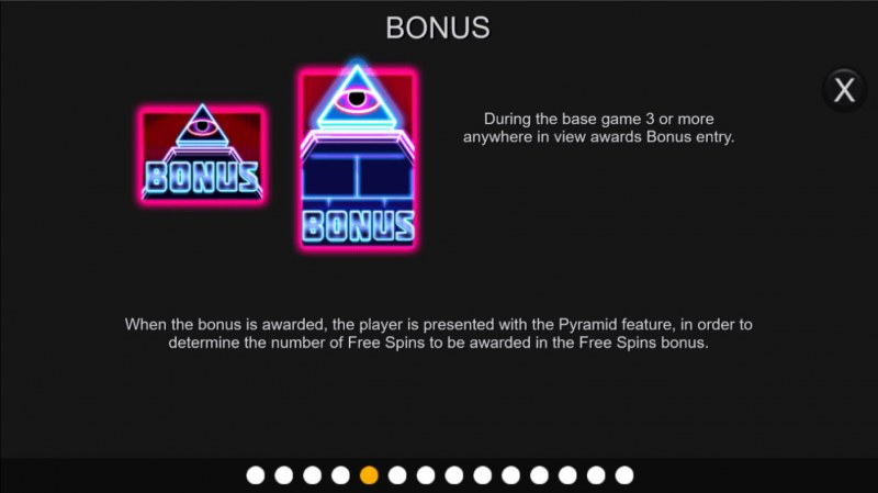Neon Pyramid :: Bonus Feature