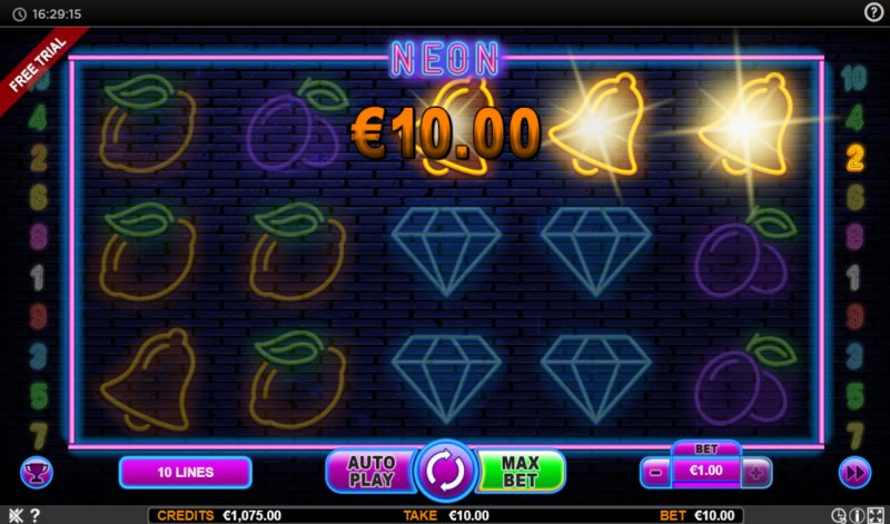 Neon :: Game Pays In Both Directions