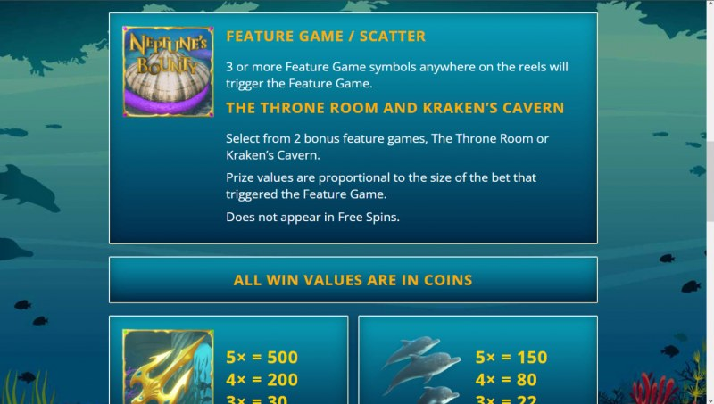 Neptune's Bounty :: Bonus Feature
