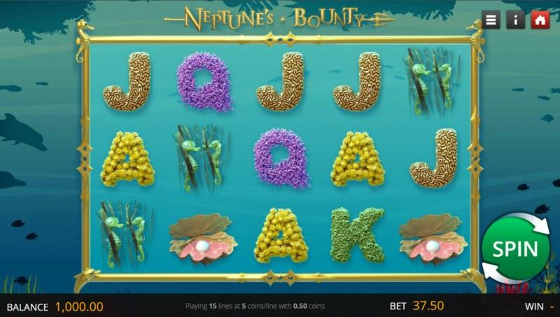 Neptune's Bounty :: Base Game Screen