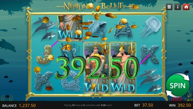 Neptune's Bounty :: Multiple winning combinations