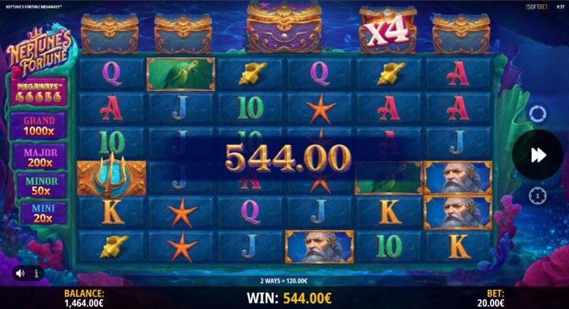 Neptune's Fortune :: X4 win multiplier