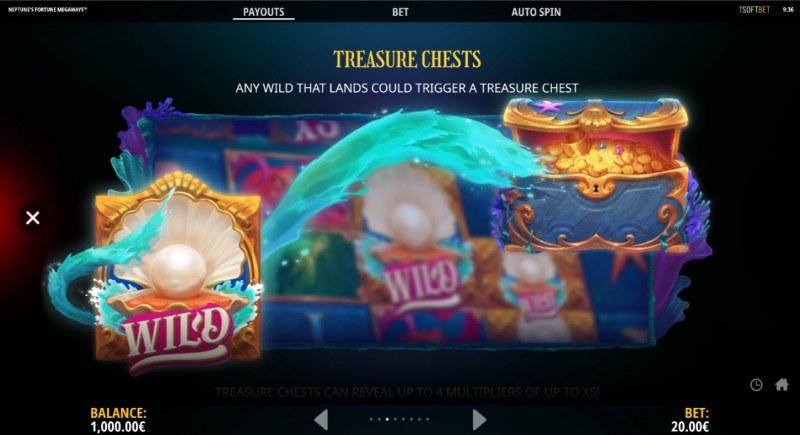 Neptune's Fortune :: Treasure Chest Feature