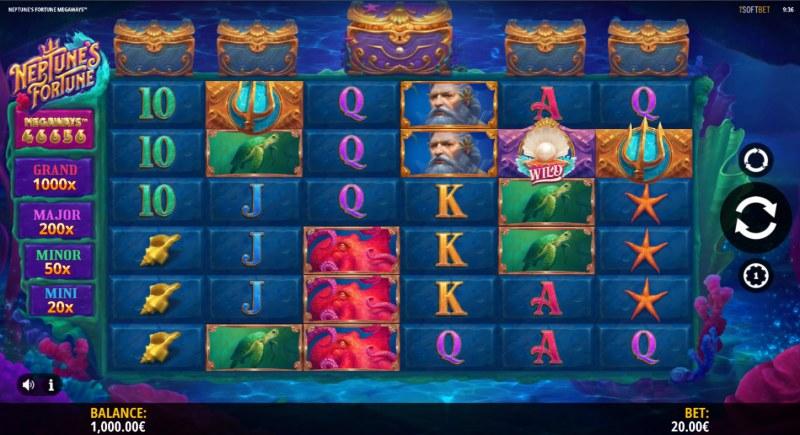 Neptune's Fortune :: Main Game Board
