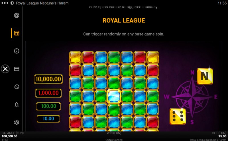 Neptune's Harem :: Royal League