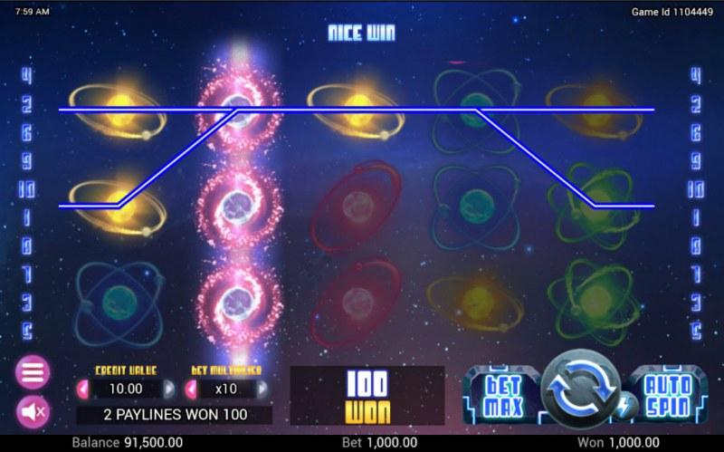 Neutron Star :: A three of a kind win