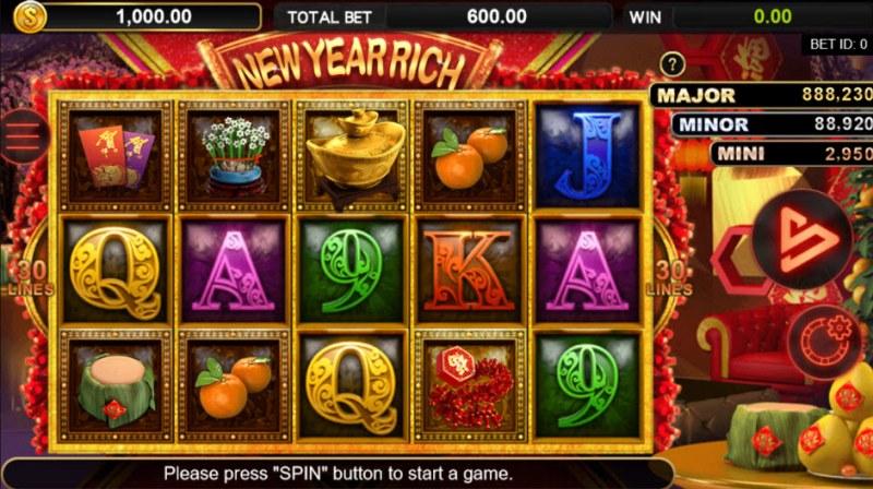 New Year Rich :: Main Game Board