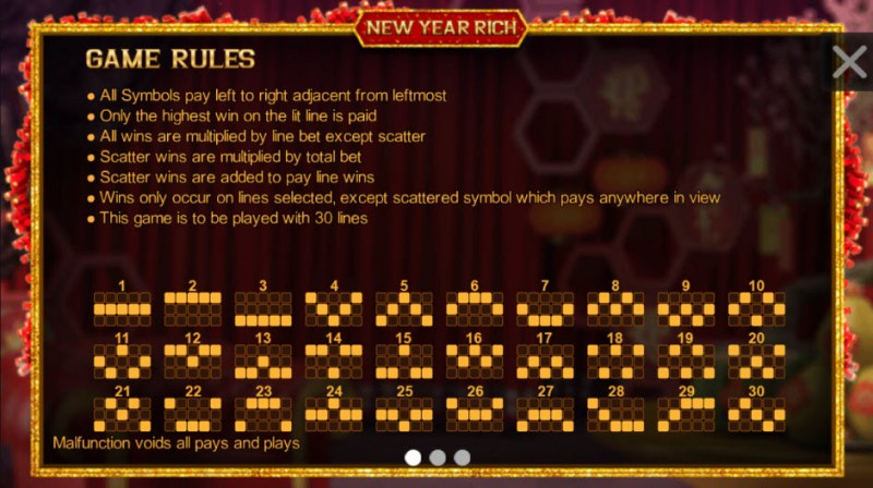 New Year Rich :: General Game Rules