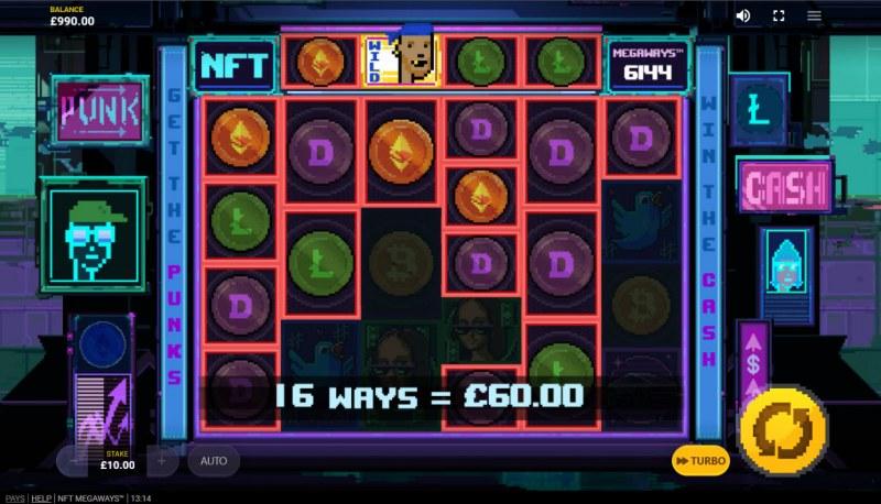NFT Megaways :: Multiple winning combinations