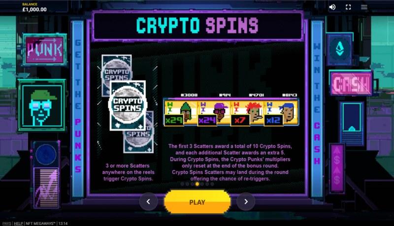 NFT Megaways :: Crypto Spins