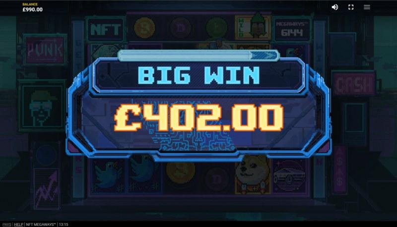 NFT Megaways :: Big Win