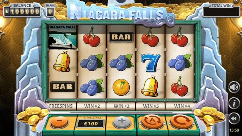 Niagara Falls :: Main Game Board