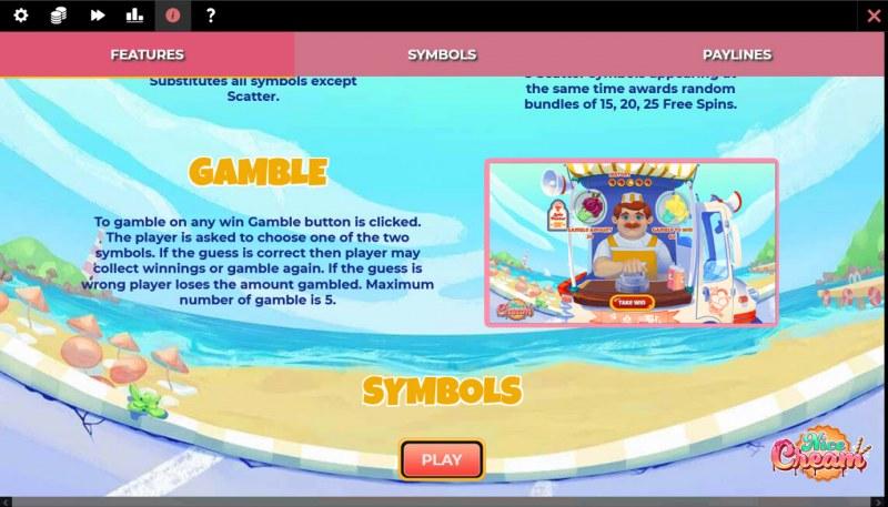 Nice Cream :: Gamble feature