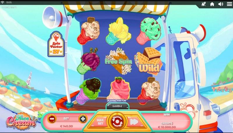 Nice Cream :: Base Game Screen
