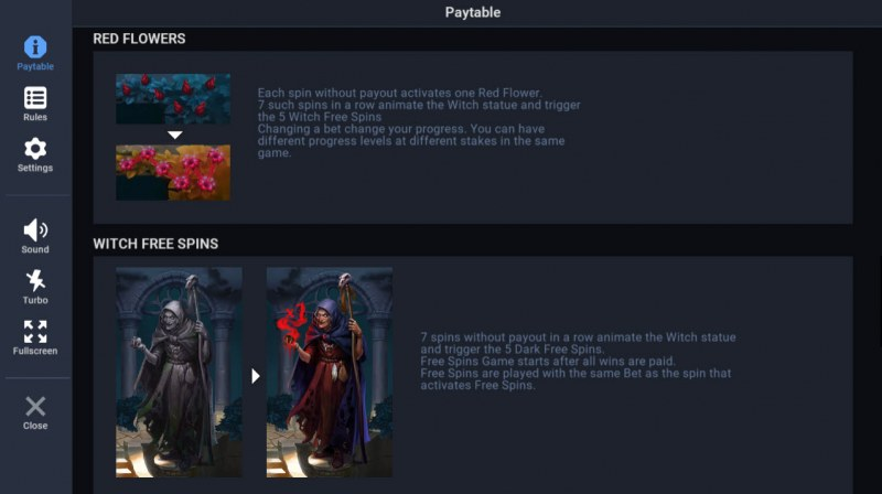 Night of the Living Tales :: Witch Free Spins